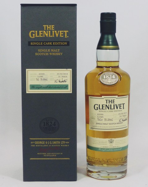 Glenlivet Livet 14 years Sherry Single Cask 65599