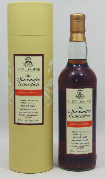 Glenglassaugh 39 years 1973 The Massandra Connection - Aleatico Finish