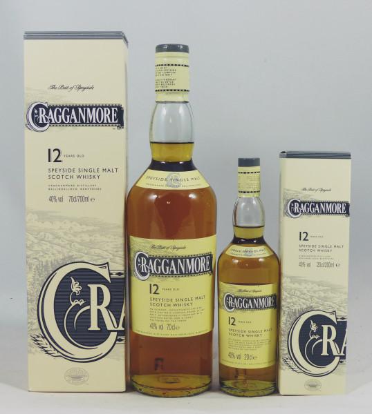 Cragganmore 12 Jahre 2 Flaschen 70cl + 20cl