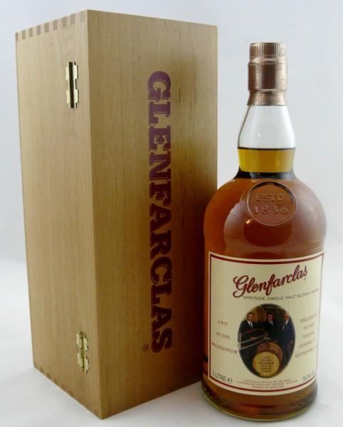 Glenfarclas Last of the Millenium Wooden Box