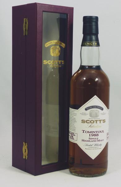 Tomintoul 1988 b. 2011 - Cask Strength, Scott's Selection
