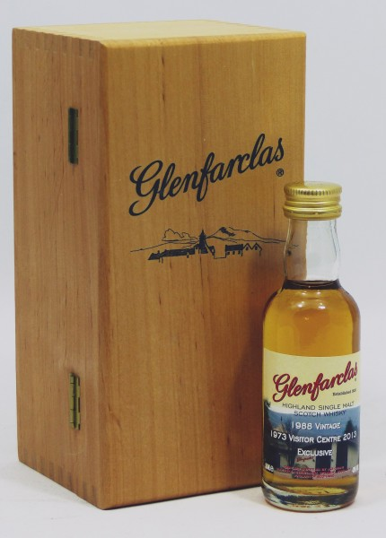 Glenfarclas 1988/13 Visitor Centre Exclusive Miniature incl. Woodenbox