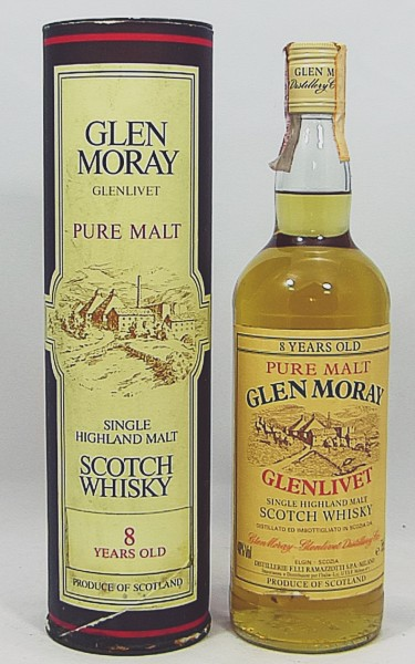 Glen Moray Glenlivet 8 Jahre old Style Pure Malt