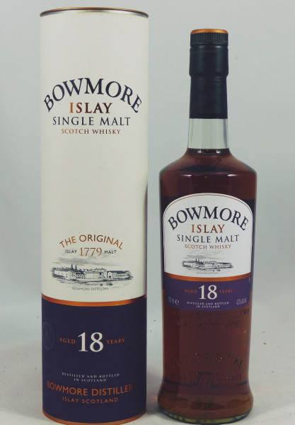 Bowmore 18 Jahre - alte Abfüllung