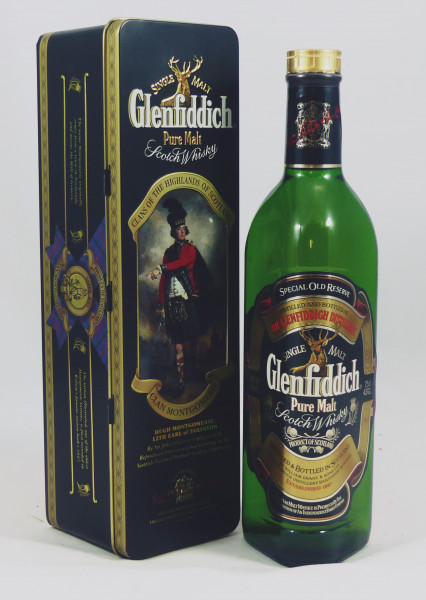 Glenfiddich Special Old Reserve - Clan Montgomerie TIN