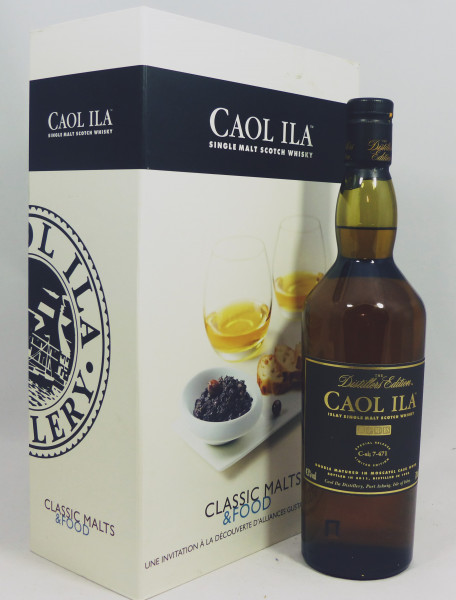 Caol Ila Distillers Edition 1998 b. 2011 in toller Geschenkpackung