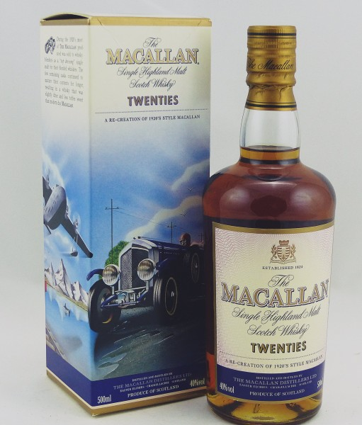Macallan Travel Series 1920s Twenties