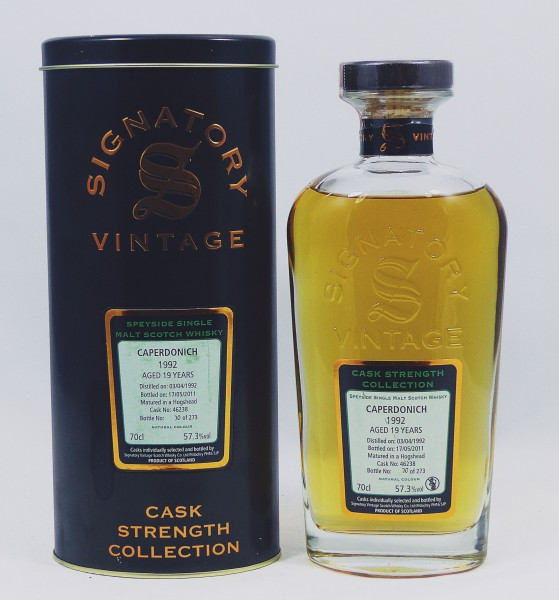 Caperdonich 1992 b. 2011 Signatory Vintage Cask Strength Collection
