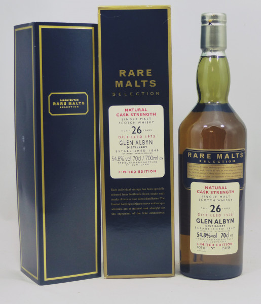 Glen Albyn 26 Jahre 1975 b. 2002 Rare Malts Selection