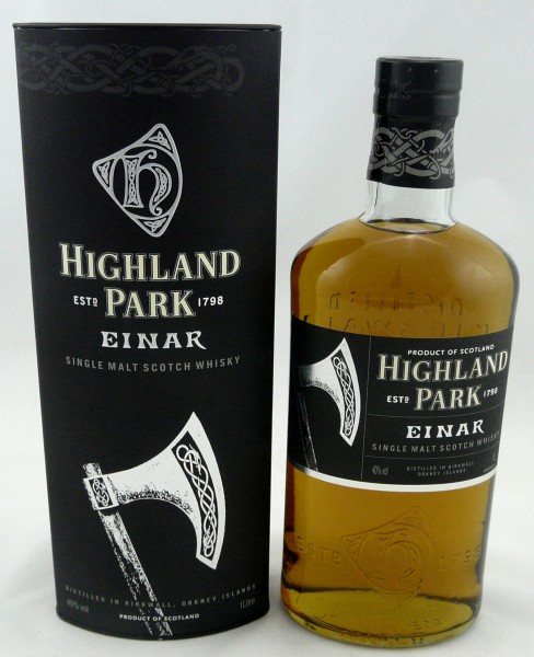 Highland Park Einar The Warrior Series
