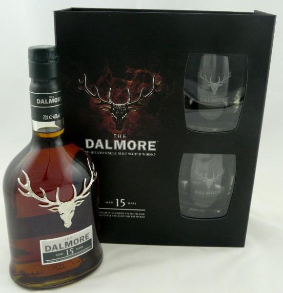 Dalmore 15 Jahre GP mit 2 Gläsern