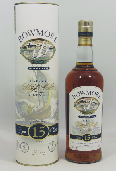 Bowmore Mariner 15 Jahre old Style