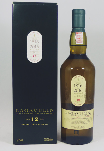 Lagavulin 12 Jahre b. 2016 Special Release - 200th Anniversary