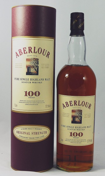 Aberlour 100 Proof Towerhouse Label 1 Litre