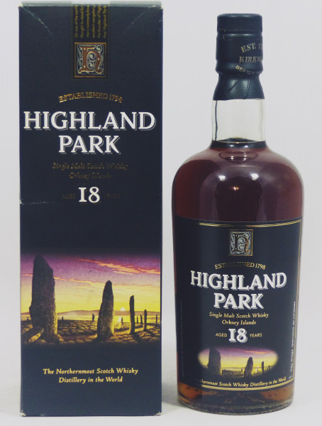 Highland Park 18 Jahre alte Abfüllung