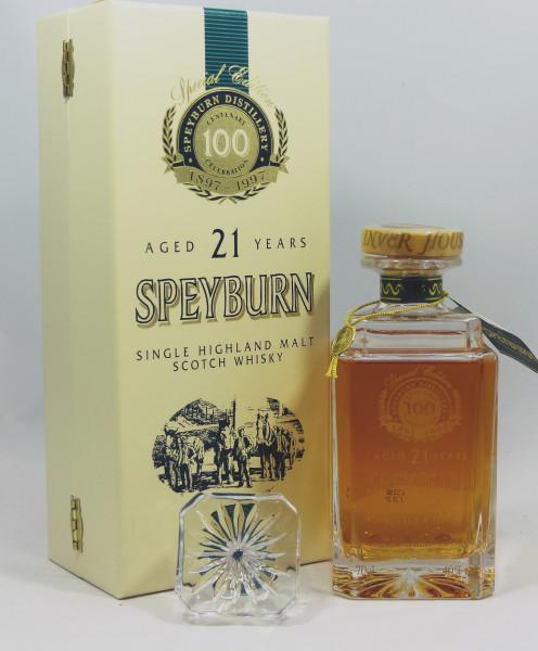 Speyburn 21 years Centenary Decanter
