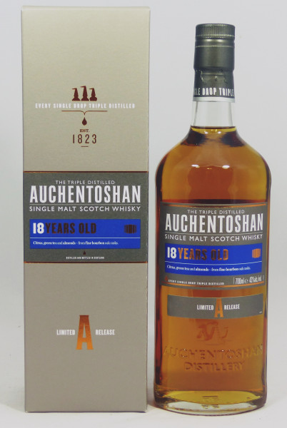"""Auchentoshan 18 Jahre Limited """"A"""" Release"""