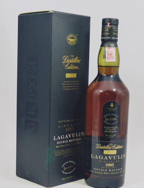 Lagavulin Distillers Edition 1995 b. 2011 Doubel Matured