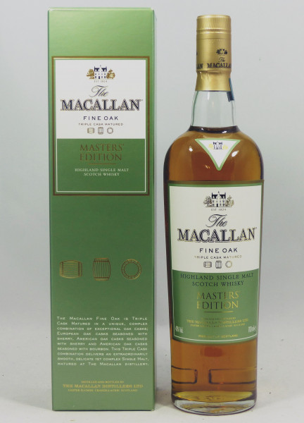 Macallan Masters' Edition Fine Oak Triple Cask matured