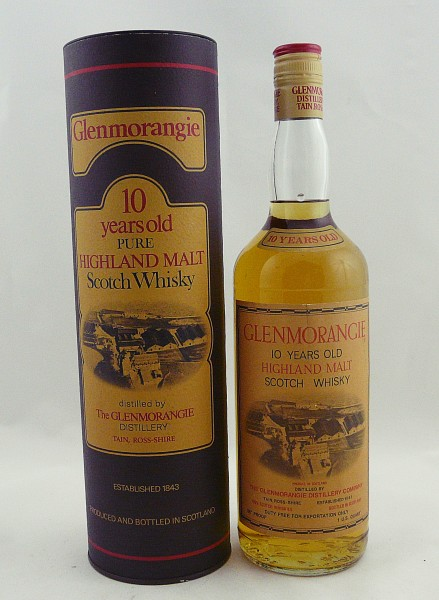 Glenmorangie 10 Jahre 86 Proof Screw Cap 1 US Quart