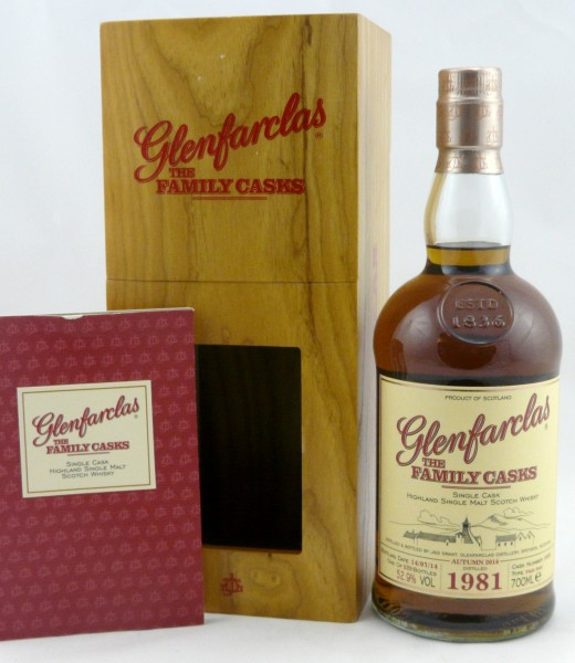 Glenfarclas 1981 The Family Casks #1603 Release A14