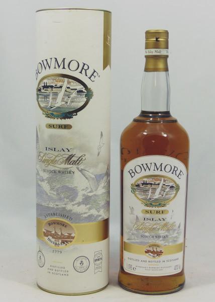 Bowmore Surf old Label 1L