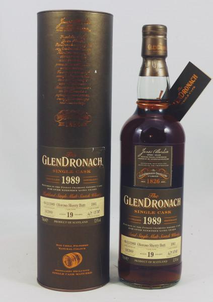 GLENDRONACH 19 Jahre 1989 Oloroso Sherry Butt #1901