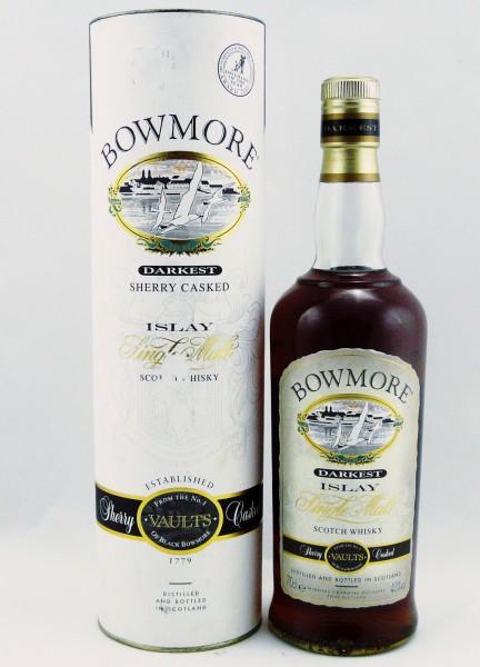 Bowmore Darkest alte Abfüllung Seagull Label