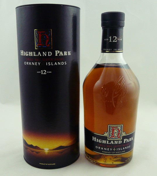 Highland Park 12 Jahre old style Dumpy Bottle 1 Liter 43%