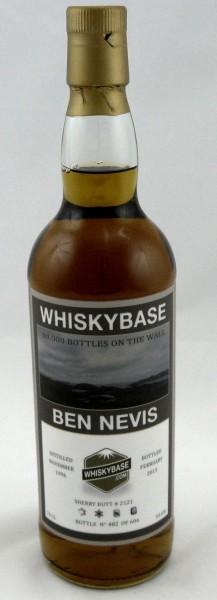 Ben Nevis 18 Jahre 1996 Whiskybase Sherry #2121