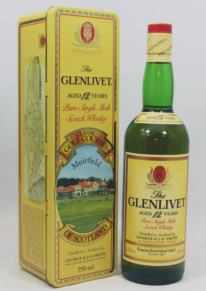 Glenlivet 12 years Pure Single Malt - Classic Golf Courses of Scotland - Muirfield