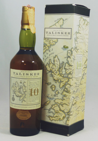 Talisker 10 Jahre old Style - Map Label, Pre Classic Malts