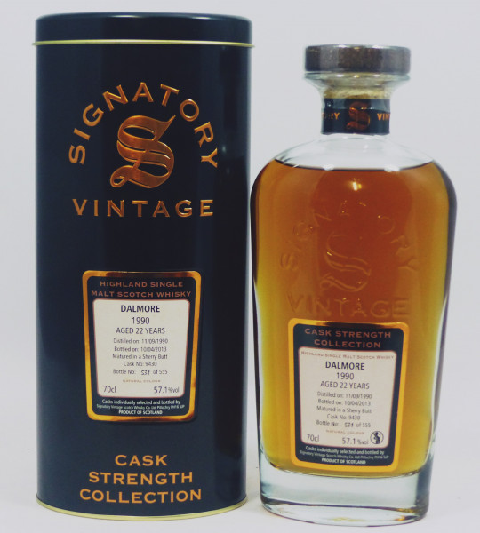 Dalmore 22 years 1990 / 2012 Cask Strength Collection