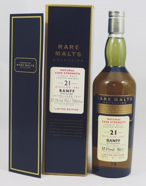 Banff 21 Jahre 1982 Rare Malts Selection