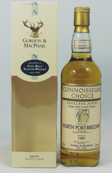North Port - Brechin 1981 b. 2004 G&M Connoisseurs Choice