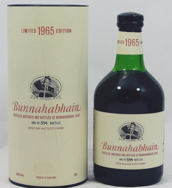 Bunnahabhain 35 years Limited 1965 Edition Single Cask 7159