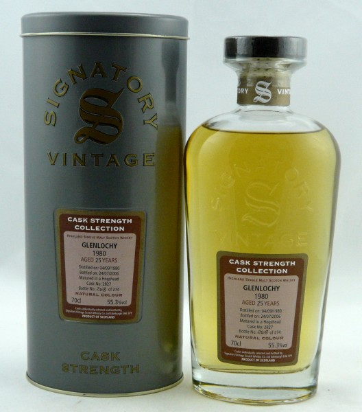 Glenlochy 25 Years 1980 Signatory Cask Strength Collection