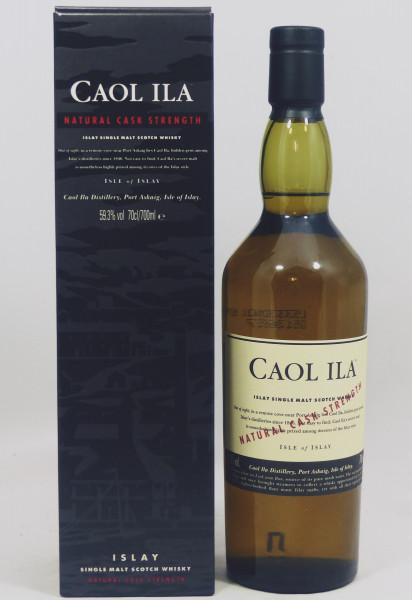 Caol Ila Natural Cask Strength 59.3% - 70cl aus 2005