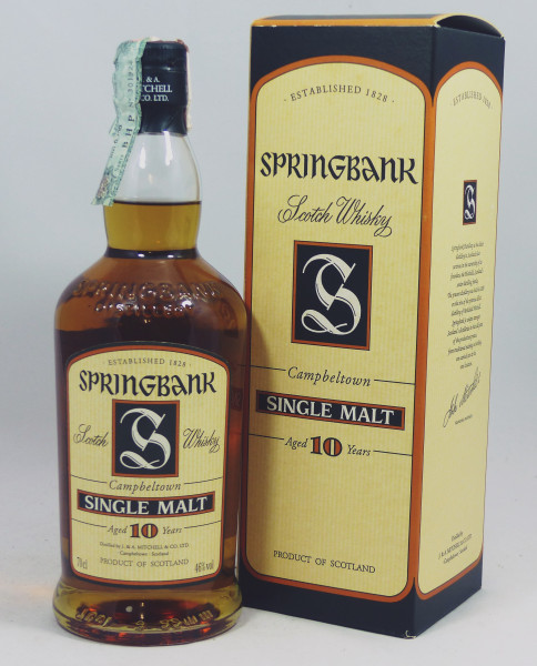 Springbank 10 Jahre old Style +/- 2000