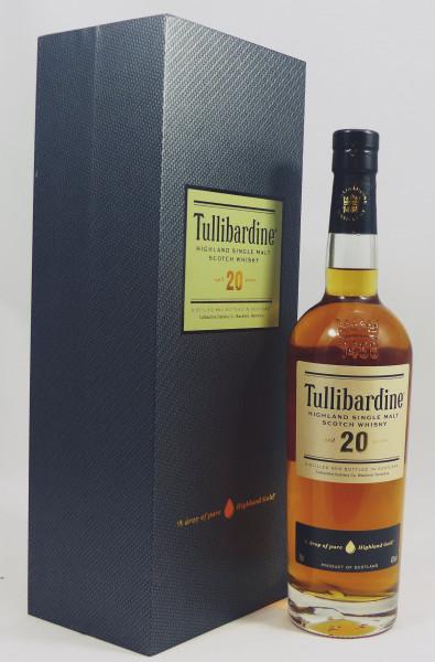 Tullibardine 20 Jahre 1st Fill Bourbon Barrels, b. 2013