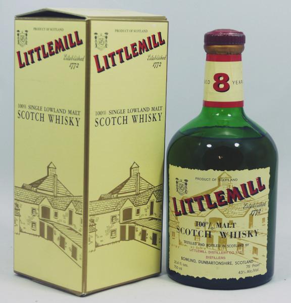 Littlemill 8 years - old Style