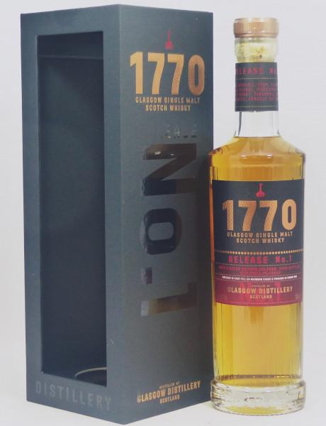 Glasgow Distillery 1770 Release No.1 aus 2018