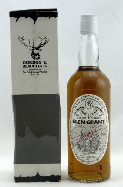 Glen Grant 1952 G&M Licensed Bottling