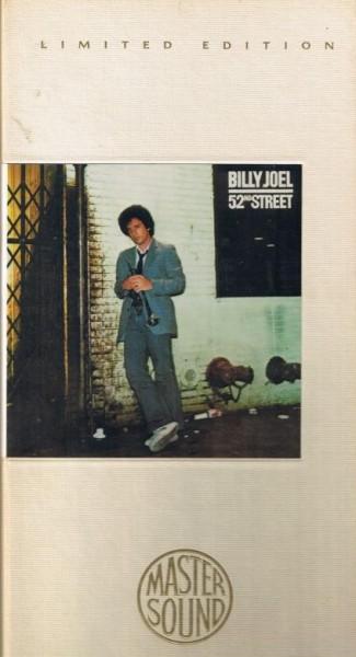 Billy Joel 52nd Street Sony Mastersound 24Kt Gold CD Longbox (neu)