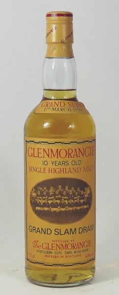 Glenmorangie 10 Years Grand Slam Dram 1990