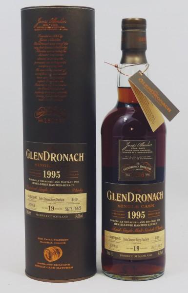 GLENDRONACH 19 Jahre Vintage 1995 PX Sherry for Kammer-Kirsch