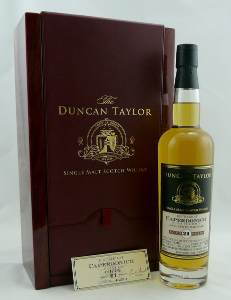 Caperdonich 21 Year Old 1992 #46220 Duncan Taylor