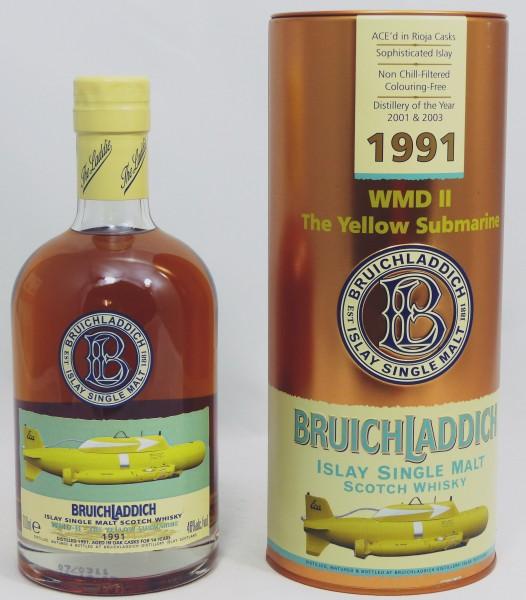 Bruichladdich WMDII 1991 Yellow Submarine
