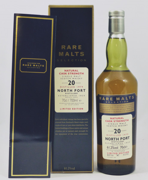 North Port 20 years 1979 b. 1999 Rare Malts Selection 61,2%