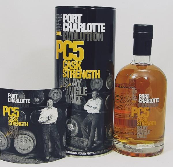 Bruichladdich PC5 Port Charlotte Evolution